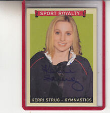 "2008 UPPER DECK GOUDEY KERRI STRUG ""OLYMPIC LEGEND"" SPORT ROYALTY AUTOGRAPH AUTO"