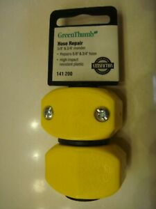 "GreenThumb 5/8"" & 3/4"" Hose Mender"