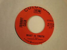 Johnny Cash Columbia 45134 What Is Truth