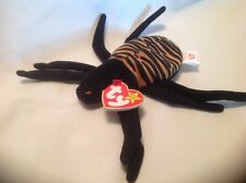"Ty Beanie Babies  Retired 1996 Halloween Spider ""Spinner"" New With Tag"