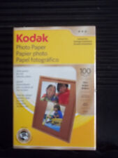 "Kodak Photo Paper, Gloss, 6.5 mil, 4"" x 6"", 100 Sheets/Pack (1743327), New"