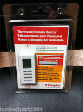 Dimplex DPCRWS THERMOSTAT REMOTE CONTROL for use with one or more LPC heaters