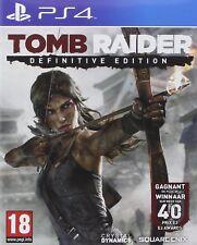 Tomb Raider - Définitive Edition Playstation 4 VF **  Neuf