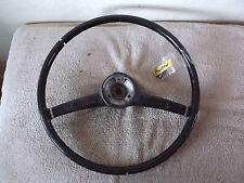 Mercedes Benz Ponton Steering Wheel Black Lenkrad                              c