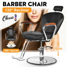 Reclining Hydraulic Barber Chair Hair Styling Salon Beauty Shampoo Spa Equipment