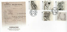 Gibraltar Covers Postal Stamps