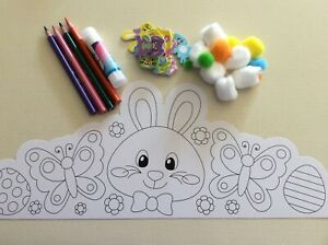 Easter Crown, Bunny & Butterfly, decorate yourself
