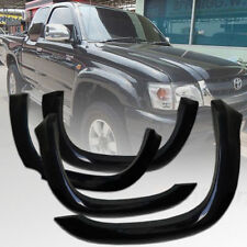 FENDER FLARES FLARE WHEEL GLOSS BLACK FIT FOR TOYOTA HILUX TIGER MK4 1998-2004