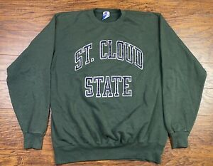 Vintage St Cloud Champion Sweatshirt 2X Green SS