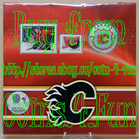 SEALED 2014 Calgary Flames NHL Hockey 25-cent Coin Stamp Gift Set Jersey Pop-Up
