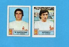 PANINI CALCIATORI 1975-76-Figurina n.448-DI BARTOLOMEI+ANTONELLI-L.R.VICENZA-Rec