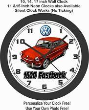 1967 Volkswagen 1600 Fastback Wall Clock-Free USA Ship