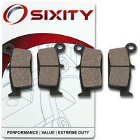 Sixity Ceramic Brake Pads  FA131 FA131  Front + Rear Replacement Kit Full km