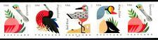 Coastal Birds PNC5 PL P1111 MNH Wide Ends Scott's 4995 4996 4997 & 4998 4998a