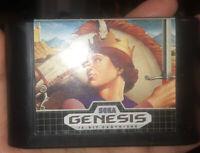 👁Sega Genesis 1990 Sword Of Vermilion Video Game Cartridge Only Original owner
