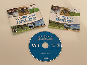 Wii SPORTS (Wii, 2009) COMPLETE TESTED & WORKING FREE SHIPPING!