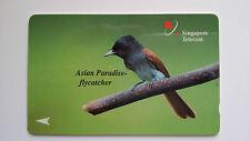 SINGAPORE VINTAGE PHONE CARD BIRD SERIES SET OF 3