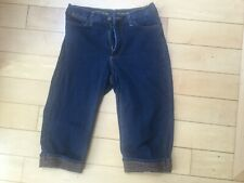 Womens NYDJ Not Your Daughters Jeans Casual Jean Capri Shorts Size 8