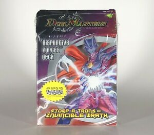 Duel Masters DM-06 Disruptive Forces Deck Stomp-A-Trons Of Invincible Wrath