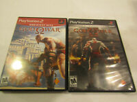 God of War 1 & 2 PS2  Used in Very Good condtion With Manual Free Shipping