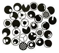 28x Dunkelfeldblende / Schrägbeleleuchtung 31,7 mm Mikroskop Dunkelfeld 32mm Set