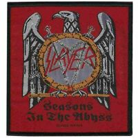 Slayer Seasons In The Abyss Patch Official Thrash Metal Rock Band Merch New