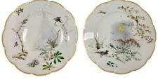 """Haviland Limoges Seasons Fine Porcelain Collector Plates Autumn & Winter 10"""" Exc"""