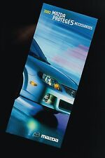 2002 Mazda PROTEGE5 ACCESSORIES / OPTION's Brochure Sheet: Protege 5