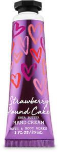 Bath & Body Works Strawberry Pound Cake Hand Cream Travel Size 1oz Purse Size