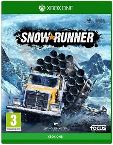 Snow Runner (Microsoft Xbox One, 2020) **LIKE NEW/FREE SHIPPING🇨🇦**