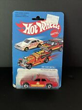Hot Wheels 1981 Fire Chaser #2639 - Nib Good Condition