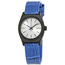 Nixon Small Time Teller Silver Dial Ladies Watch A509-2131-00