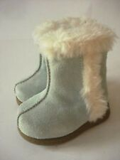 NWT Gymboree Girls Light Blue Faux Suede Crib Boots Booties Size 02