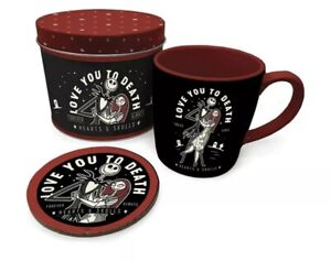The Nightmare Before Christmas - Mug and Coaster in Tin Gift Set 🇬🇧 UK SELLER