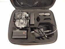 GoPro HERO3 Silver Edition Camera Camcorder w/Case 3 batts & Screen (bundle)