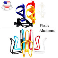 2PCS Plastic/Aluminum alloy MTB Bike Bicycle Cycling Water Bottle Cage Holder