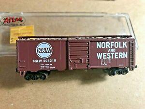 Vintage Atlas 34031 Norfolk & Western 40' single door boxcar