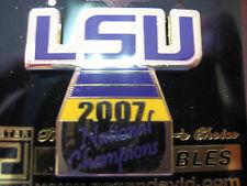 Louisiana State University Pin - 2007 BCS Champs