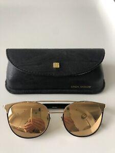 Linda Farrow mirrored women's sunglasses