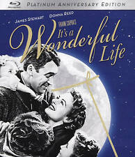 It's A Wonderful Life [Blu-ray] Christmas Movie Best Movie New Sealed