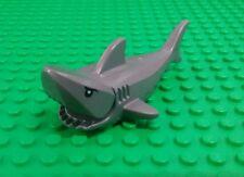 *NEW* Lego Grey Great White Shark Detailed Eyes Ocean Water Bath Settings x 1