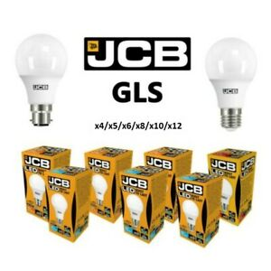 JCB LED Bulbs 6W 10W 15W Replaces 40W 60W 100W Watt B22 ES E27 Warm Cool Day UK