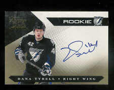 2010-11 PANINI LUXURY SUITE GOLD DANA TYRELL AUTO RC 1/10 TAMPA BAY LIGHTNING