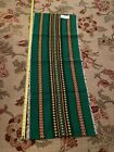 "Vtg  Mid Century Polish Folk Art Cepelia Wool 52"" X 21"" Hanging Rug Tapestry"
