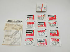 AURORA AFX BOX OF TRACK CLEANING PADS ~ 12 PACKS ~ NOS ~ RARE FIND!
