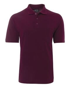 Jb's Wear Classic Fit Polo Shirt With Left Hand Chest Pocket UPF Protection 50+