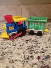 Fisher Price Chunky Little People Circus Train Toy Children 1991 AE445 NO FIGURE