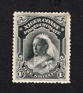 Nigeria Niger Coast Proctorate 1894 stamp SG#56a MH CV=82$
