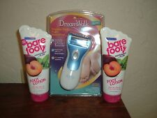 Dr. Scholl's Dream Walk Express Pedi Foot Smoother Freeman Bare Foot Plum Lotion
