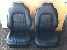 Holden Bucket seat suits  HJ, HX, HZ and WB black vinyl